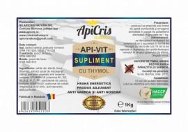 Turta Apivit supliment cu vitamine si timol