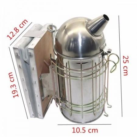 Afumator mediu inox cu cilindru interior