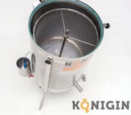 Topitor de ceară si centrifugă ceară diametru 51cm cu motor de 230V-Konigin