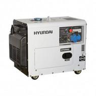 Generator diesel, de curent monofazat cu motor diesel HYUNDAI DHY6000SE