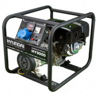 Generator pe benzina, de curent monofazic HYUNDAI HY9000