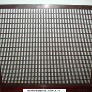 Gratie Hanneman plastic negru, 10 rame, 42x50cm