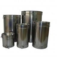 Maturator INOX Rodax 50 litri (aproximativ 70 kg miere) - canea inox, cleme si manere inox