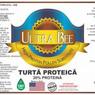 Turta proteica cu Ultra Bee - proteina neta 20%