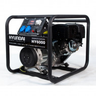 Generator pe benzina, de curent monofazic HYUNDAI HY6000