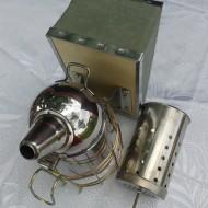 Afumator mic, inox cu cilindru interior
