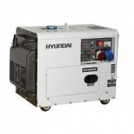 Generator diesel, de curent trifazat cu motor diesel HYUNDAI DHY8600SE-T