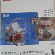 Semi - Masca 3M (filtrele nu sunt inlcuse in pretul mastii)