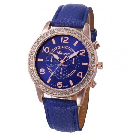 Ceas de dama Geneva Diana blue