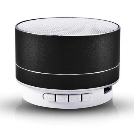 Boxa portabila A10B, bluetooth, 3W (sunet puternic), USB, radio FM, LED