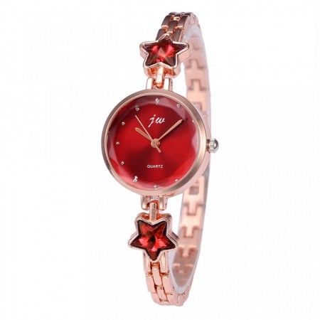 Ceas de dama J-W Naiade red
