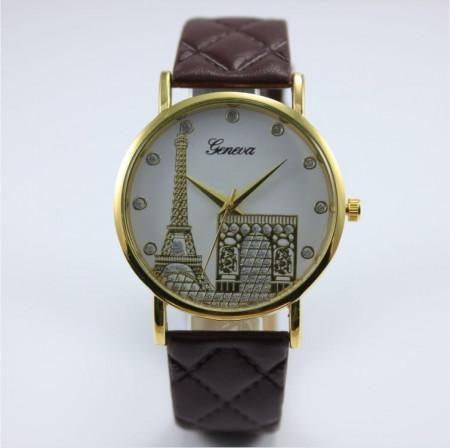 Ceas de dama Geneva Paris brown
