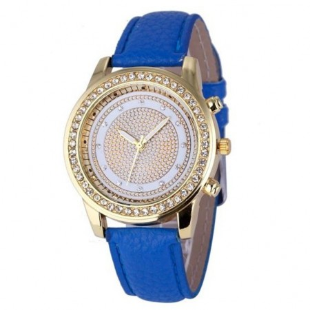 Ceas de dama Geneva Junona blue
