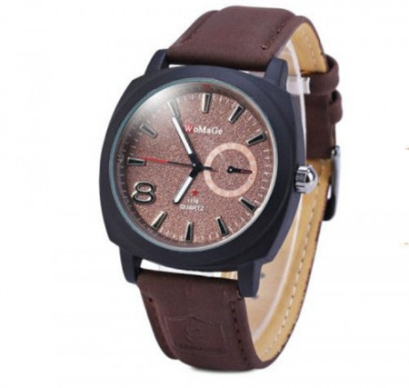 Ceas barbatesc Womage brown army