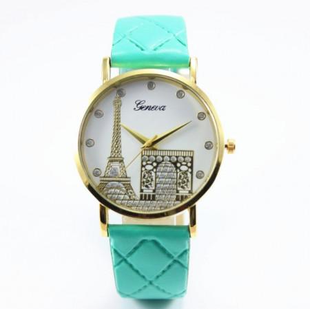 Ceas de dama Geneva Paris green