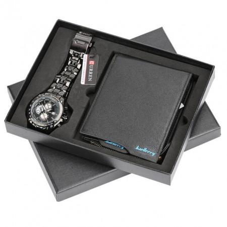 Set cadou cu ceas barbatesc Curren si portofel