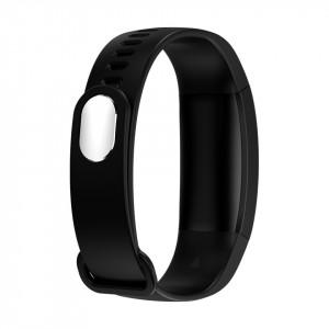 Bratara fitness smart F64, padometru, monitor de somn, iOS si Android