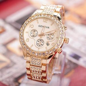 Ceas de dama Geneva Polimnia gold