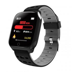 Bratara fitness smart F16ECG, ritm cardiac, padometru, monitor somn, iOS si Android