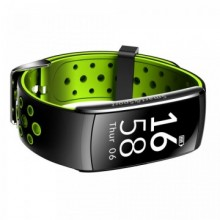 Bratara fitness smart Q8 bluetooth, Android, iOS, OLED 0.96 inch, heart rate, verde