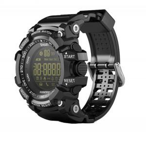 Ceas smartwatch EX16 Sport BT 4.0, monitor fitness, padometru, Android, iOS, notificari, negru
