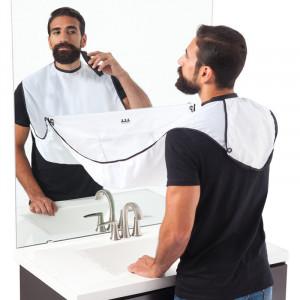 Pelerina cu ventuze pentru barbierit si tuns, 100 x 70 cm