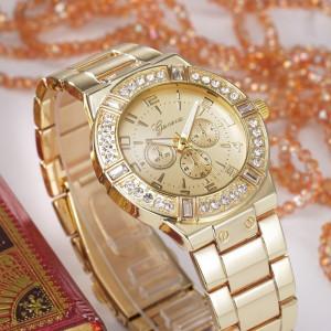 Ceas de dama Geneva Asteria gold
