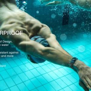 Bratara fitness smart RegalSmart DM11-220,ecran curbat, ritm cardiac, notificari, OLED