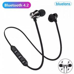 Casti audio wireless XT11 cu bluetooth 4.2 tip in-ear
