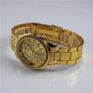 Ceas de dama Geneva metal gold