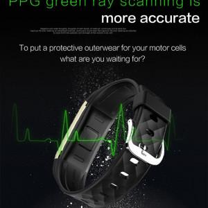 Bratara fitness smart RegalSmart S2-217, monitorizare ciclism, ritm cardiac, notificari, OLED
