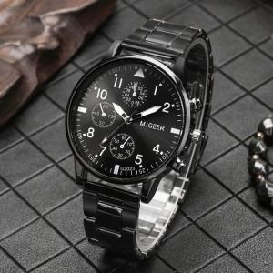 Set cadou cu ceas barbatesc Migeer si bratari elegante