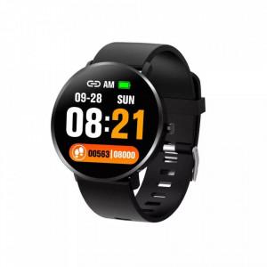 Bratara fitness smart F25T, ritm cardiac, temperatura corpului, nivel oxigen sange, iOS si Android, Bluetooth 4.0