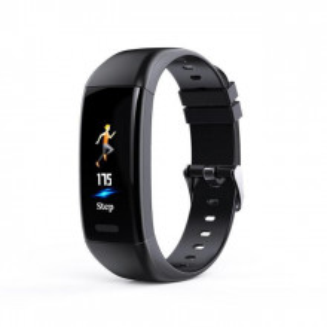 Bratara fitness smart X1 monitorizare puls, padometru, notificari apeluri si sms, Android, iOS, vibratii, negru