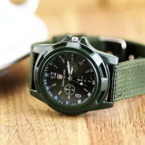 Ceas barbatesc Swiss Army green