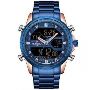 Ceas barbatesc Naviforce NF9138S Blue