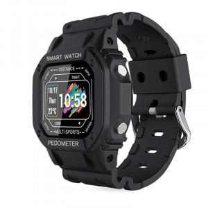 Ceas smartwatch i2, ritm cardiac, padometru, multi-sport, Android, iOS, bluetooth 4.0