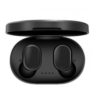 Casti audio wireless cu bluetooth A6S tip in-ear pentru IOS, Windows si Android