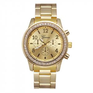 Ceas de dama Geneva Fides gold