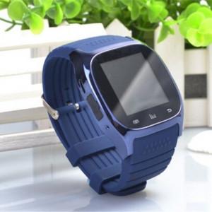 """Ceas smartwatch RegalSmart M26-161 Bluetooth, ecran 1.5"""", barometru, pedometru, altimetru, notificari SMS, Facebook, Whatsapp, albastru"""