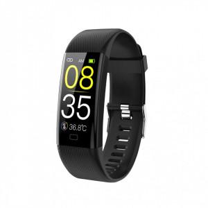 Bratara fitness smart F07T, ritm cardiac, tensiune arteriala, monitorizare somn, Android, iOS, bluetooth 4.0