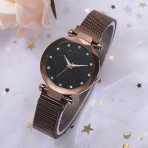 Ceas de dama Geneva Vesta pink black