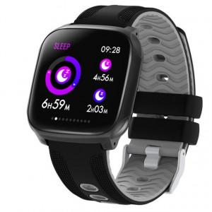Ceas smartwatch F12, ritm cardiac, padometru, Android, iOS, Bluetooth 4.0