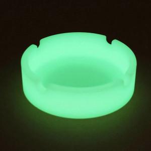 Scrumiera fosforescenta verde, 83 mm