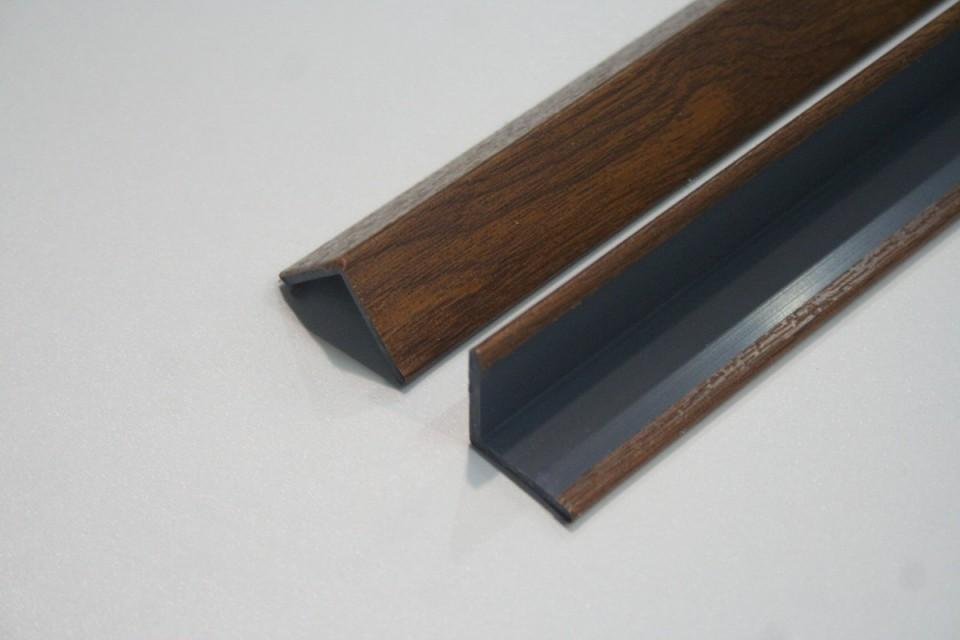 Angolari pvc 100 x 100 colori efetto legno standard - Piastrelle spessore 2 mm ...