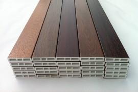 Profilo riempimento per infissi PVC, paco di 5 barre di 6 mt, pellicolato colore legno standard