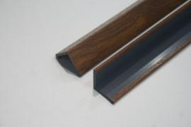 Angolari PVC 100 x 100 colori efetto legno standard, spessore 2 mm immagini
