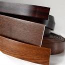 Coprifili per infissi PVC in rotolo effeto legno standard larghezza 80 mm