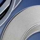 Coprifili in barre larghezza 30 mm, colore bianco