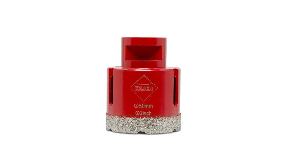 Carota diamantata pt. portelan, placi ceramice DryGres 50mm - RUBI-4914 RUBI
